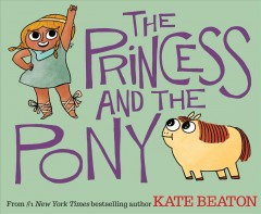 Book jacket for The princess and the pony