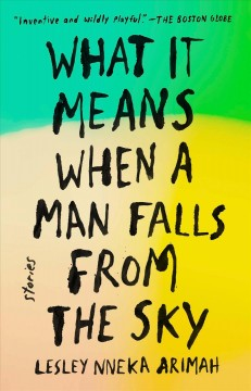 Book jacket for What it means when a man falls from the Sky [BOOK DISCUSSION]