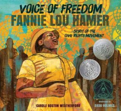 Book jacket for Voice of freedom : Fannie Lou Hamer, spirit of the civil rights movement