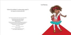 Book jacket for I am famous