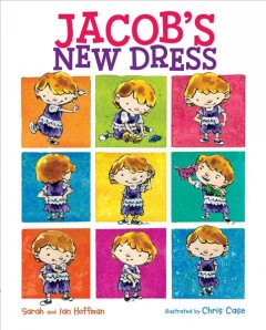 Book jacket for Jacob's new dress /