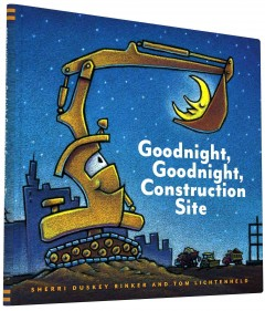 Book jacket for Goodnight, goodnight, construction site /