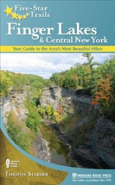Book jacket for Five-star trails, Finger Lakes and Central New York :