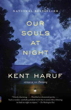 Book jacket for Our souls at night /