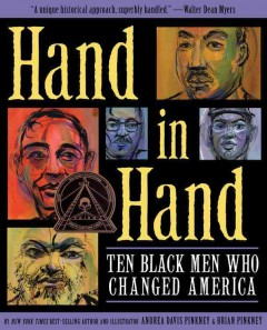 Book jacket for Hand in hand : ten Black men who changed America