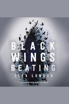 Book jacket for Black wings beating