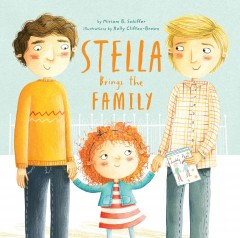 Book jacket for Stella brings the family
