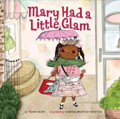 Book jacket for Mary had a little glam