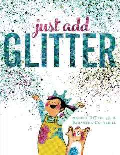 Book jacket for Just add glitter