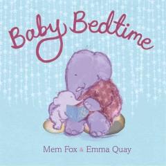 Book jacket for Baby bedtime /