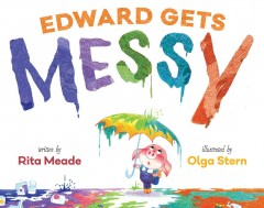 Book jacket for Edward gets messy /
