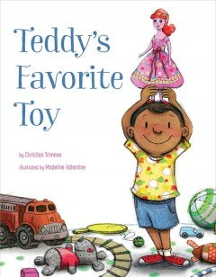 Book jacket for Teddy's favorite toy