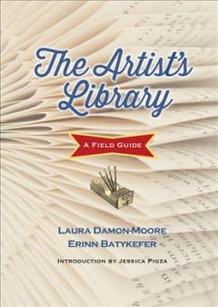 Book jacket for The artist's library :