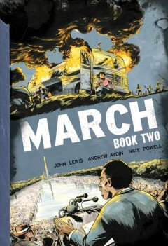 Book jacket for March. Book two