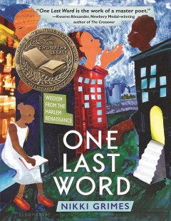 Book jacket for One last word : wisdom from the Harlem Renaissance