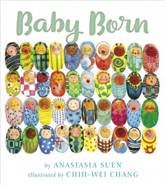 Book jacket for Baby Born /
