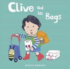 Book jacket for Clive and his bags /