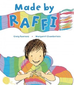 Book jacket for Made by Raffi /