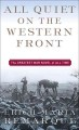 Book title: All Quiet on the Western Front