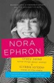 Crazy salad & Scribble scribble : some things about women & notes on the media / Nora Ephron.