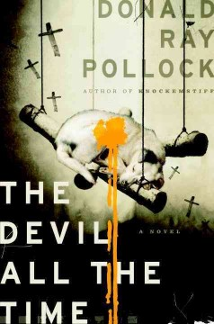 The devil all the time book cover
