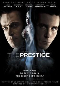 The prestige book cover