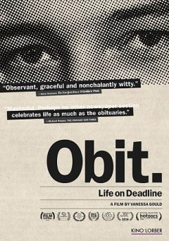 Catalog record for Obit..