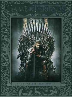 Catalog record for Game of thrones. The complete first season