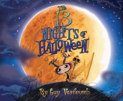 The 13 nights of Halloween book cover