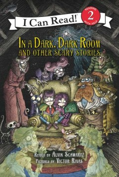 In a dark, dark room, and other scary stories book cover