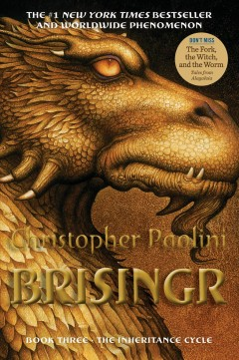 Brisingr, or, The seven promises of Eragon Shadeslayer and Saphira Bjartskular book cover