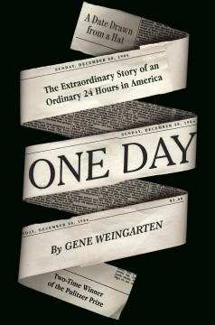 One day : the extraordinary story of an ordinary 24 hours in America book cover