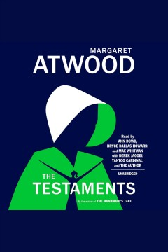 The testaments : a novel book cover