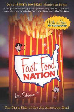 Catalog record for Fast food nation : the dark side of the all-American meal