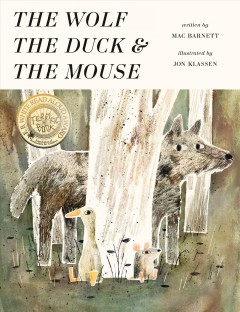 The wolf, the duck & the mouse book cover