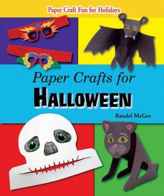 Paper crafts for Halloween book cover