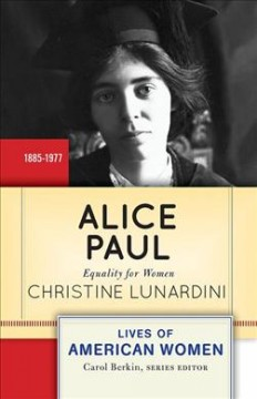Catalog record for Alice Paul : equality for women