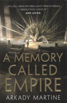 A memory called empire book cover