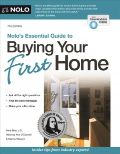 Nolo's essential guide to buying your first home. book cover
