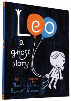 Leo : a ghost story book cover