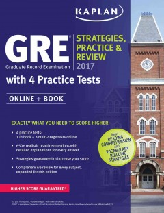 Catalog record for GRE : strategies, practice, and review