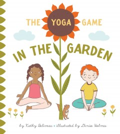 The yoga game in the garden book cover