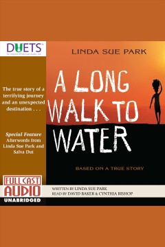 A long walk to water : based on a true story book cover