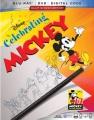 Celebrating Mickey.