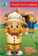 Daniel Tiger's neighborhood. Daniel goes camping