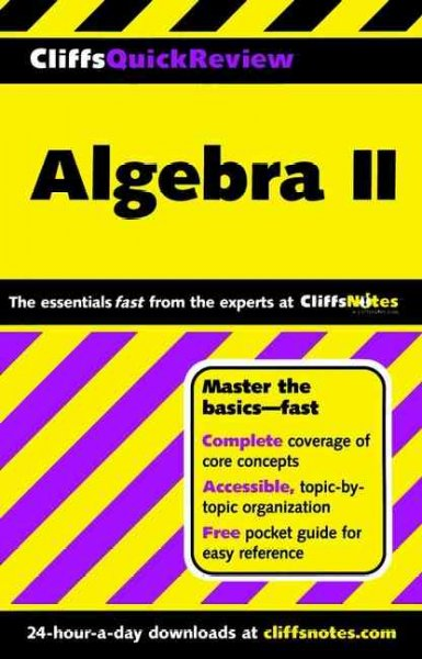 Cliff's Quick Review: Algebra II