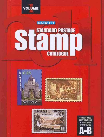 Scott Standard Postage Stamp Catalogue