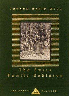 Book cover for Swiss Family Robinson