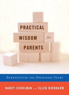 Book cover for Practical wisdom for parents: demystifying the preschool years