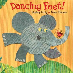 Book cover for Dancing Feet!